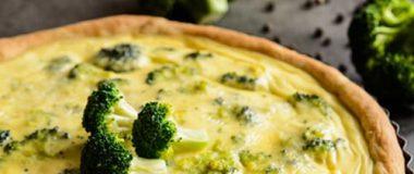 Tarta de Brócoli y Queso