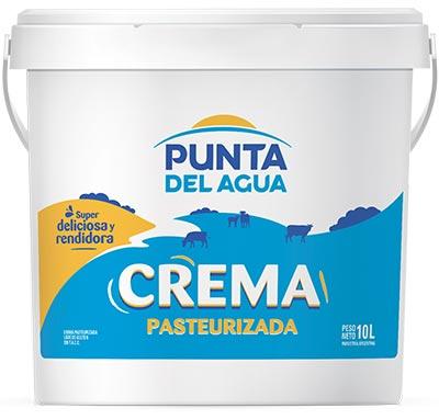 Pasteurized Cream Tub 10L